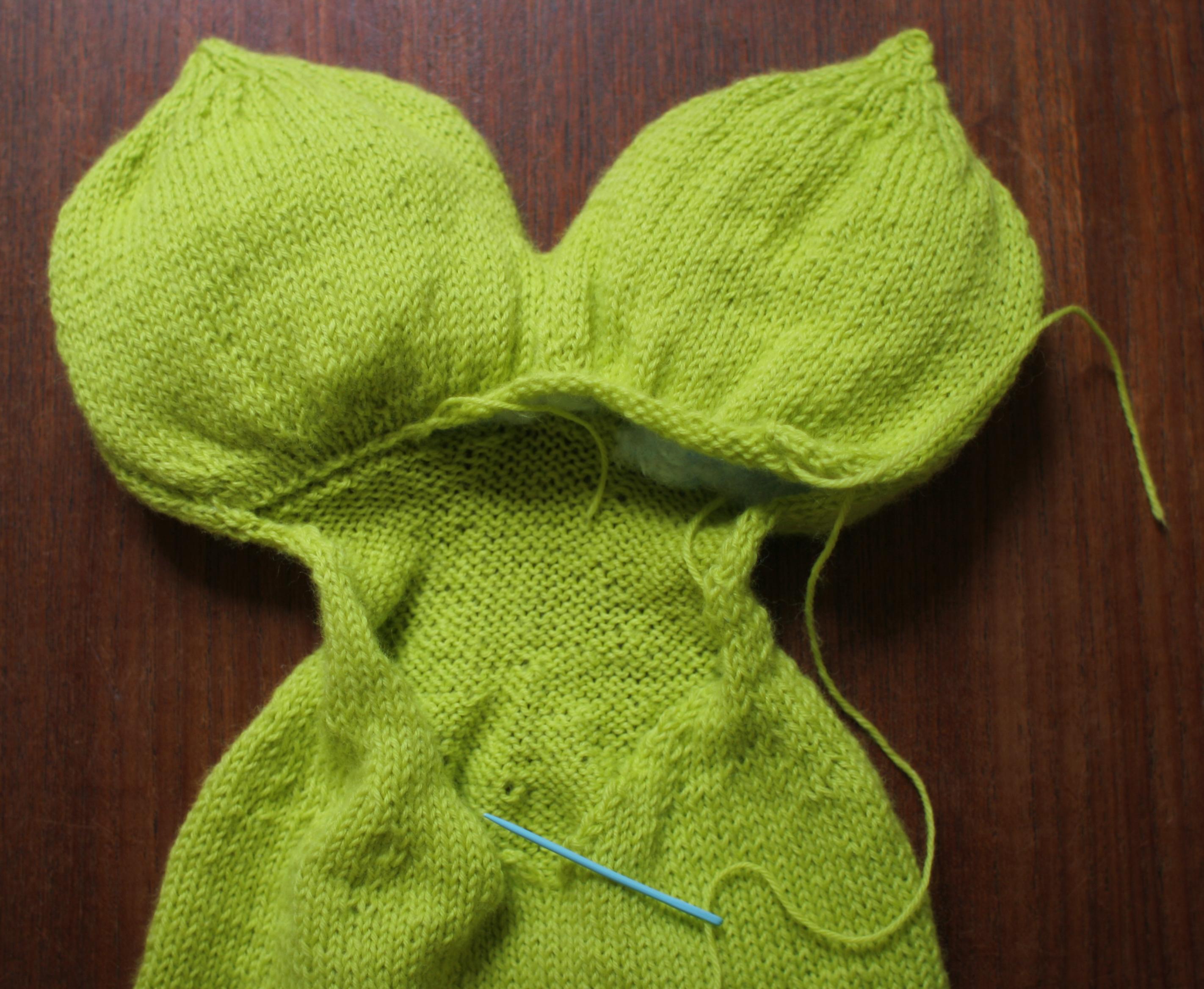free knitting pattern | Domesticspace