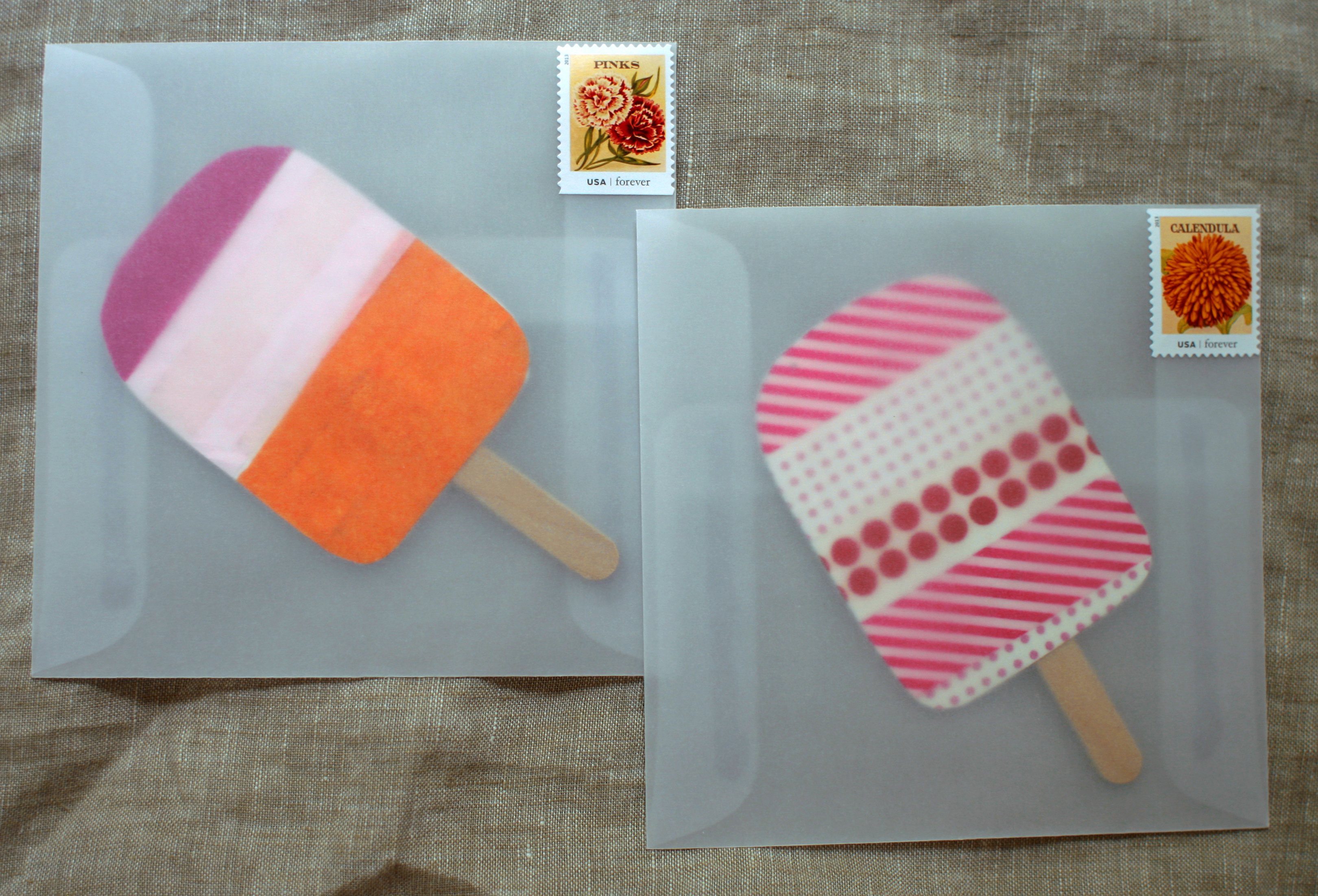 DIY Popsicle Party Invitations