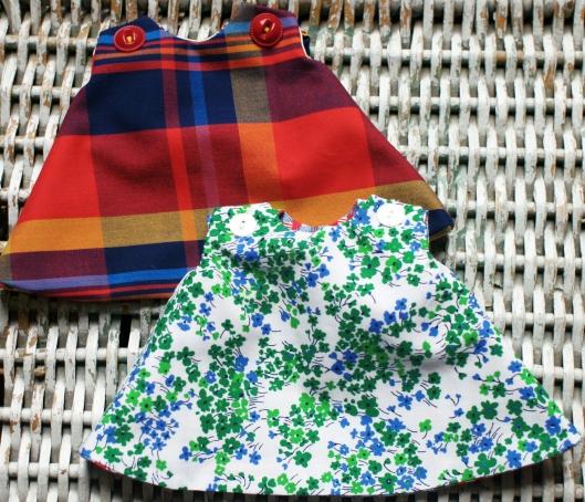 Free Reversible Doll Dress Pattern Domesticspace